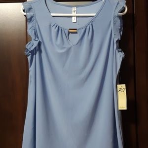 NWT Soft Blue Colored Blouse
